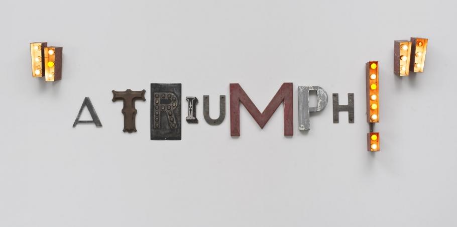 Word Sculptures: Jack Pierson
