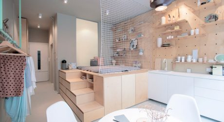 A Small Budapest Apartment Designed for Travelers