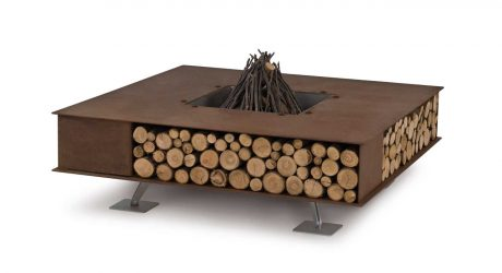 Modern Outdoor Fire Pits from Ak47 Design