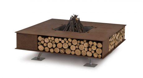 Modern Outdoor Fire Pits from Ak47 Design