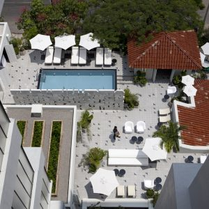 A Colorful Mexican Hotel With Classical European Design