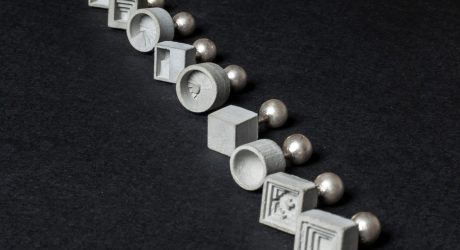 Architecture-Inspired, Concrete Cufflinks