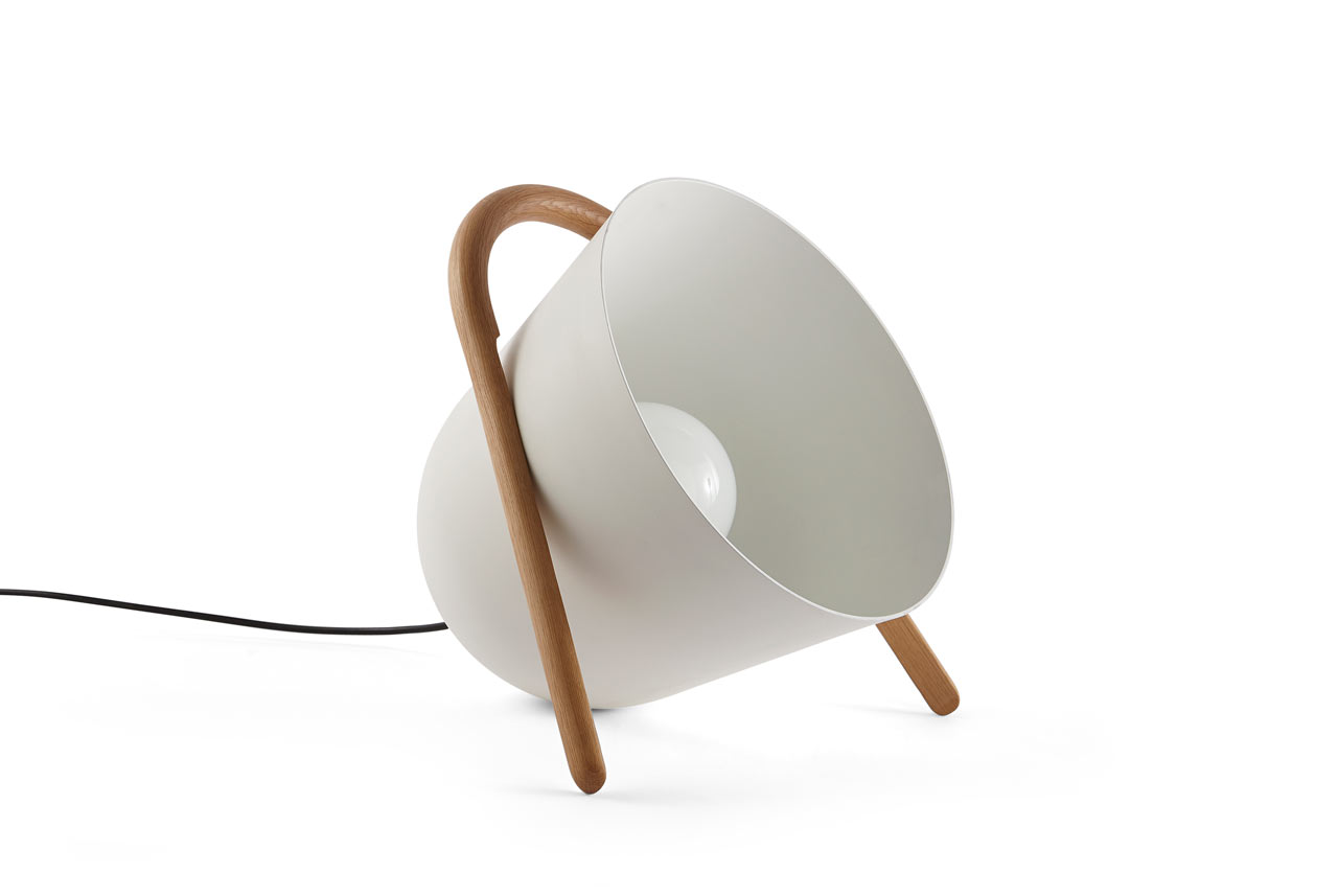 The Elma Portable Floor Lamp