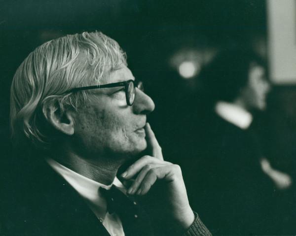 Louis Kahn, ca. 1972 © Robert C. Lautman Photography Collection, National Building Museum