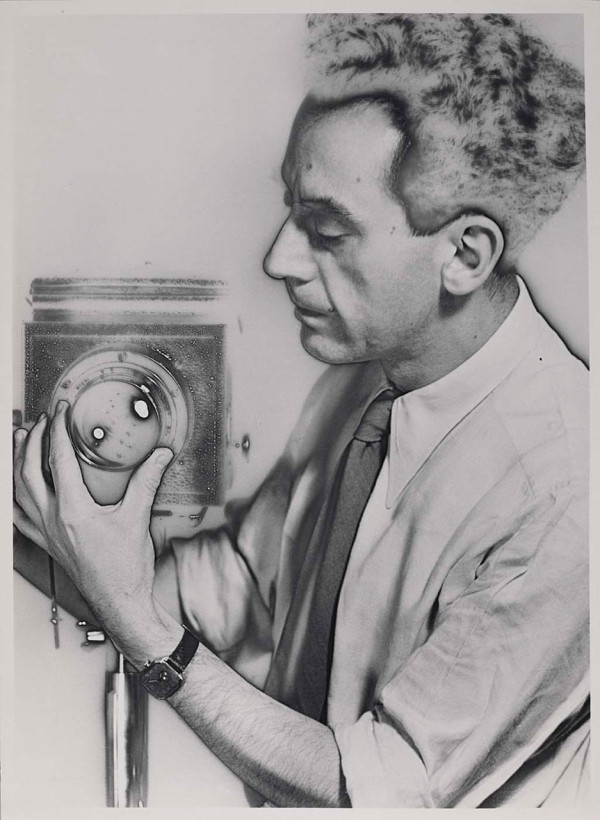 Man Ray. Self-Portrait with Camera, 1932.