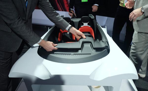 FordGt-interior-model