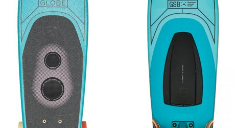 Globe Skateboards Designed With Built-in Wireless Speaker