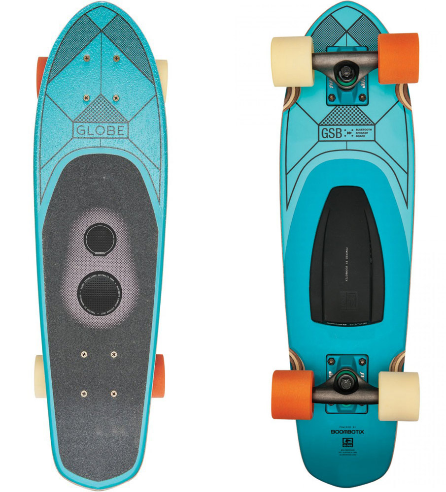 Globe Skateboards With Built In Wireless Speaker Design Milk