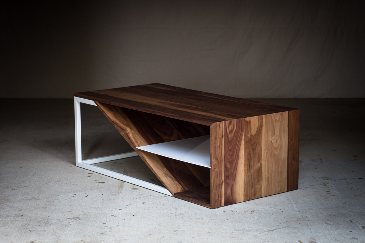 Wood Furniture Design harkavy furniture focuses on wood & steel - design milk
