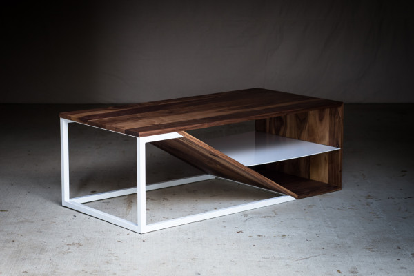 Harkavy furniture focuses on wood steel design milk Wood and steel furniture