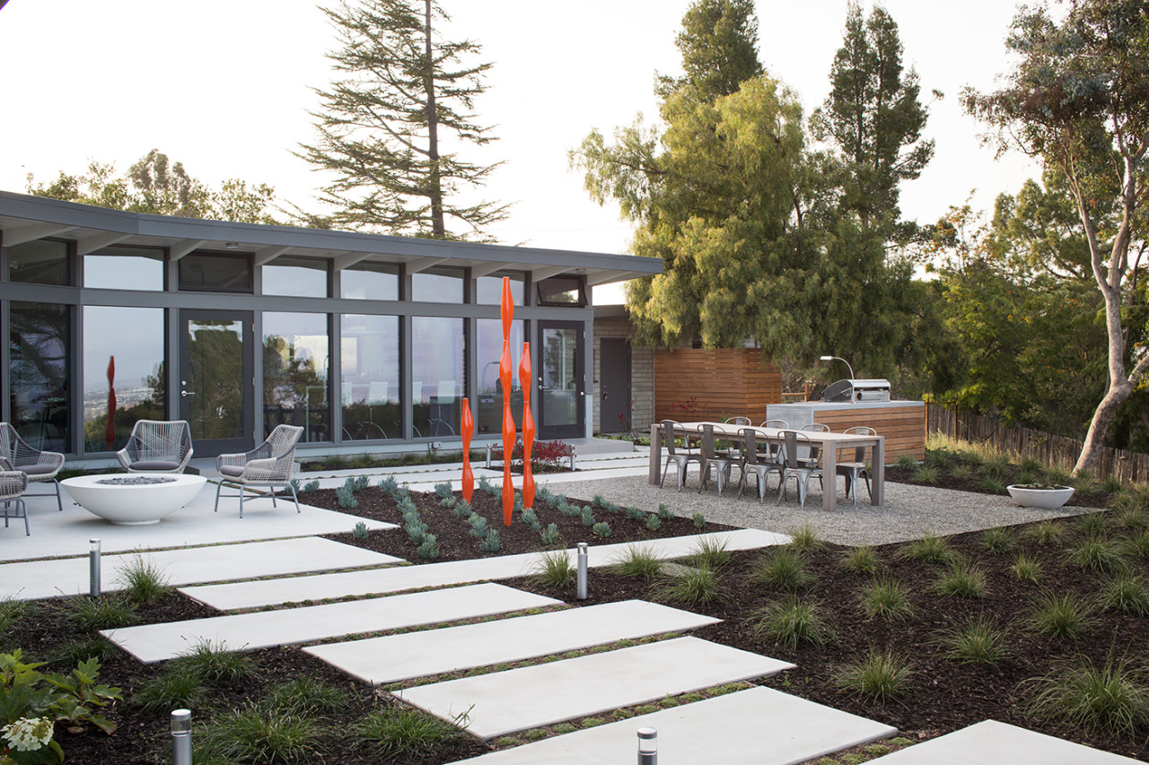 Classic Mid-Century Modern Home Gets Sustainable, Open Makeover