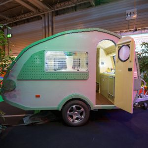 A Life-Sized Caravan Made From 215,158 LEGO Bricks