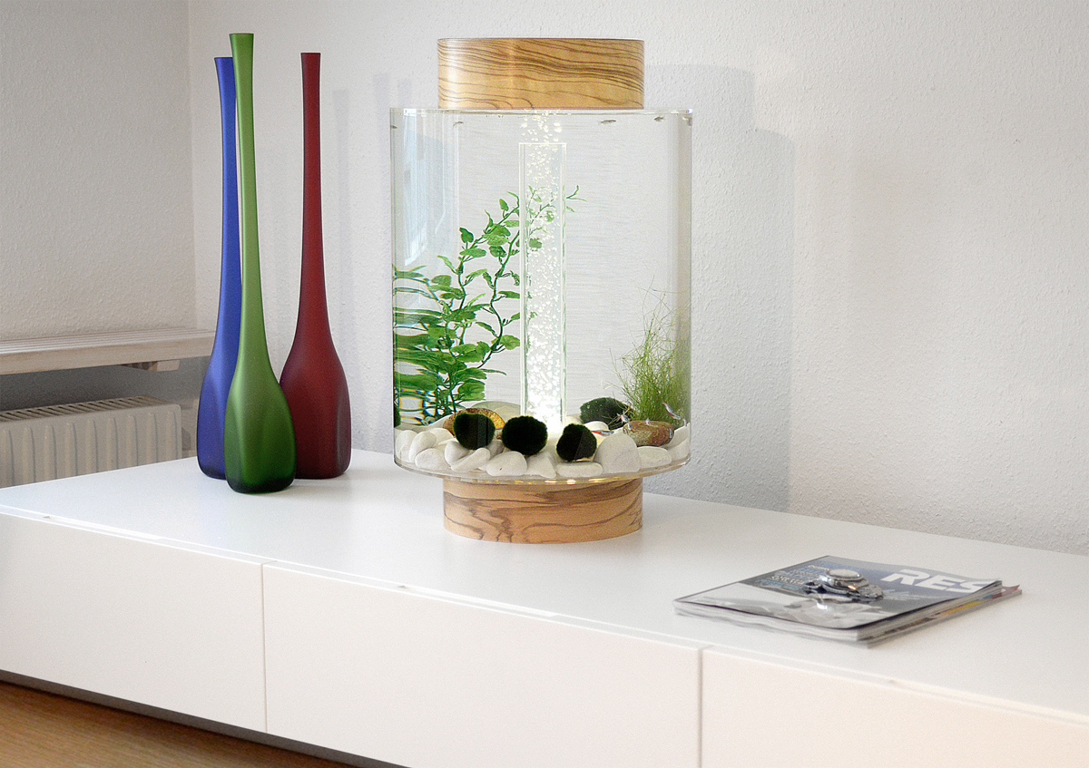 Home Aquarium Gets A Scandinavian Redesign Design Milk