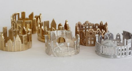 Architecture-Inspired Rings that Focus on City Skylines