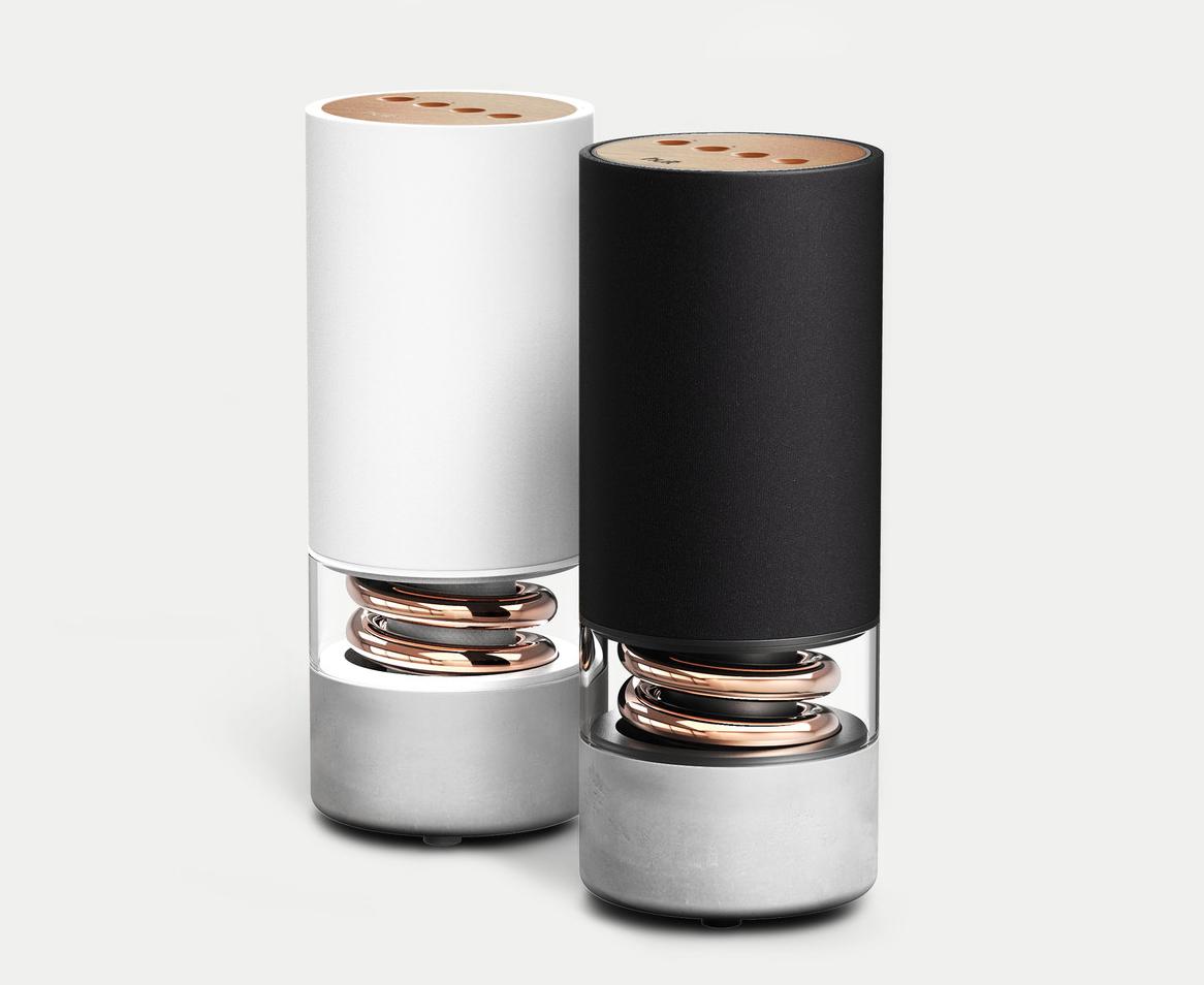 pavilion speaker is architectural audio - design milk