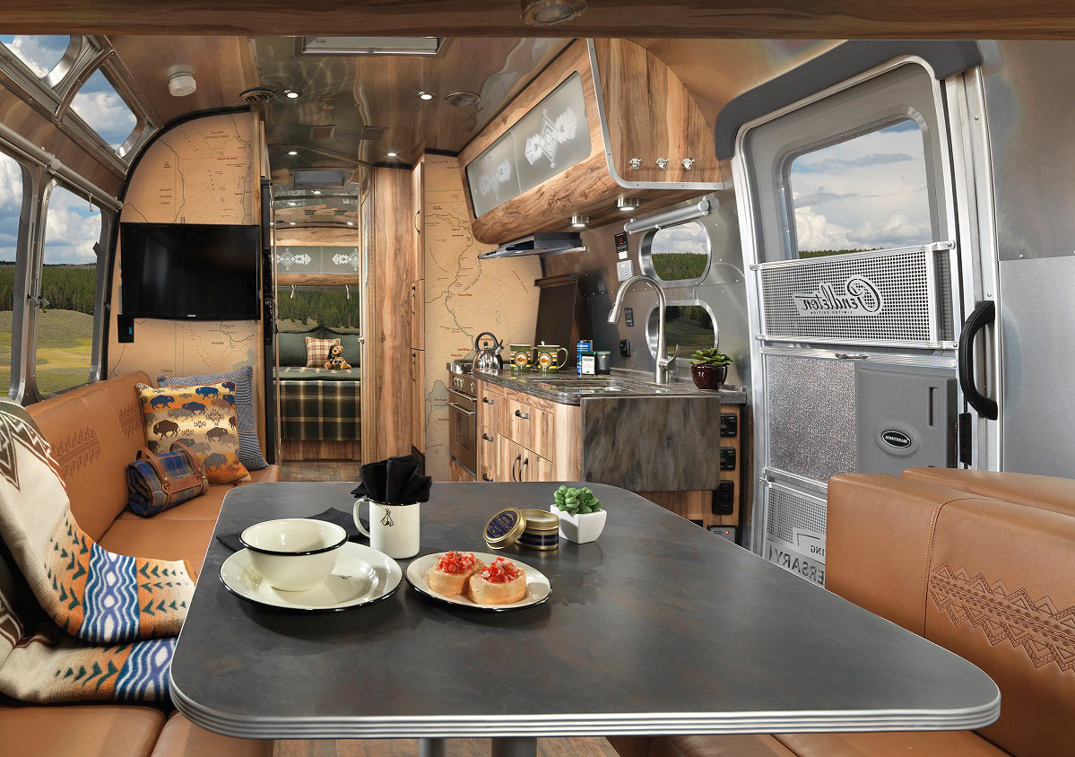 Airstream Interior Design Minimalist Alluring The Coolest Modern Rvs Trailers And Campers  Design Milk Design Inspiration