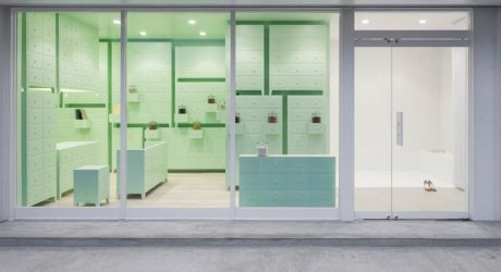 A Soothing Acupuncture Lounge in Aichi, Japan