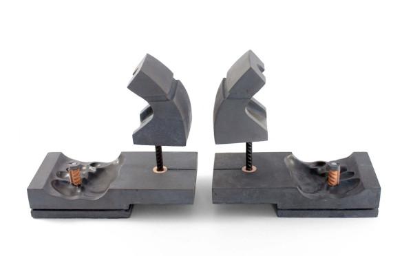 Sculptural Footwear Made of Concrete