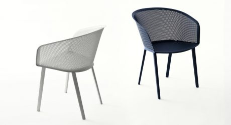 An Outdoor Chair That's Both Sturdy and Delicate