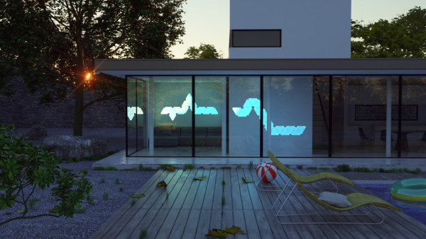 ... homes might lose the need for switches altogether and homeowners will configure lighting directly onto their walls like puzzle pieces. & The Smart LED Nanoleaf Aurora at CES 2016 - Design Milk