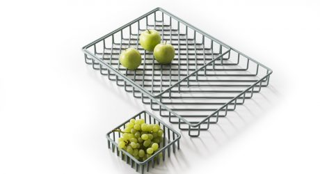 Stackable, Patterned Trays by Frederik Roijé