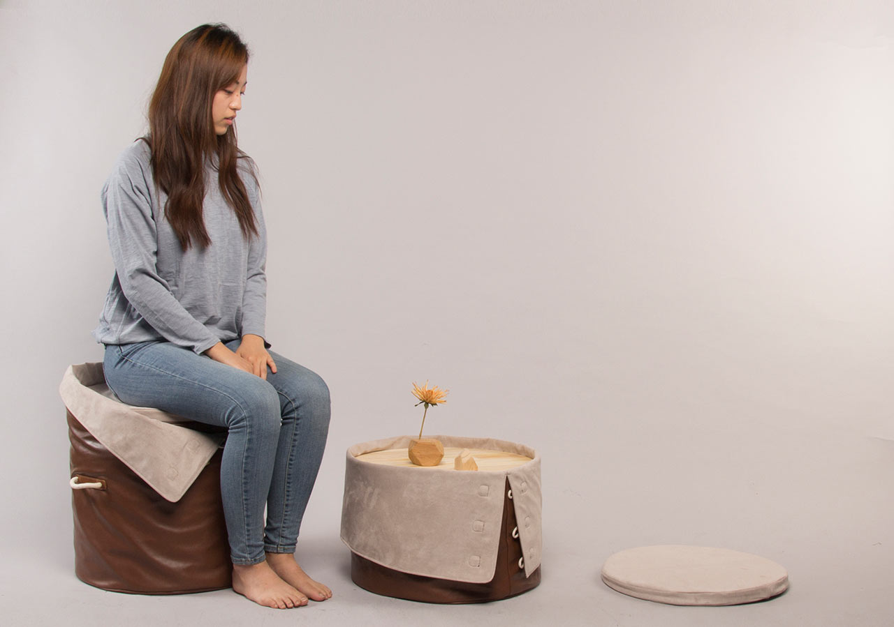 "A Chair Designed to ""Give"" by Dae Kim"