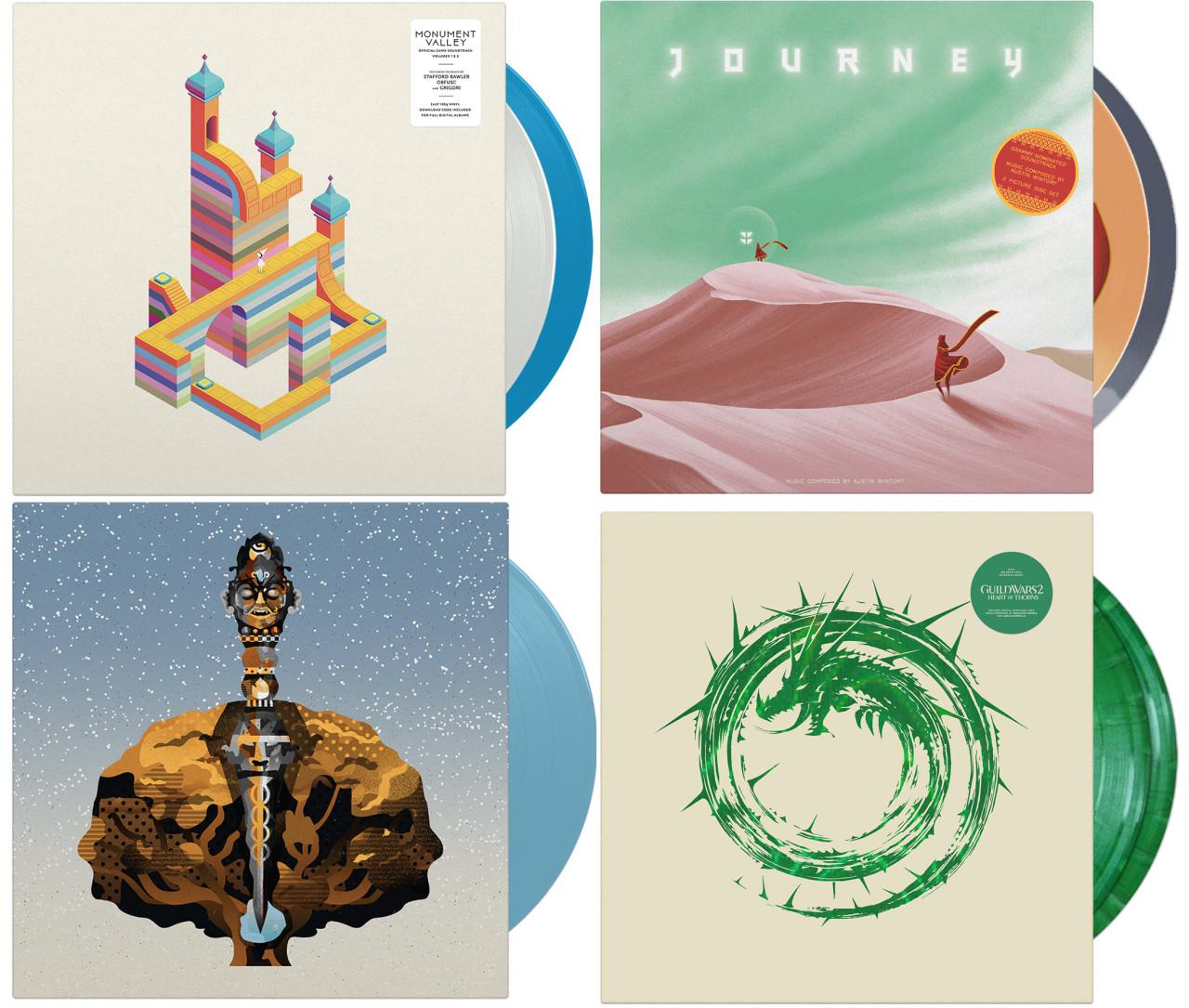 The Vinyl Art of Video Game Soundtracks