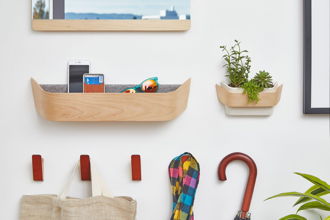 Start and End Your Day with the Entryway Collection by Grovemade
