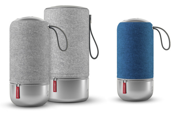 The new Libratone ZIPP Copenhagen Edition distinguishes itself from its standard counterparts with an aluminum base, leather handle, and a soft Italian wool cover, in both ZIPP and ZIPP MINI editions.
