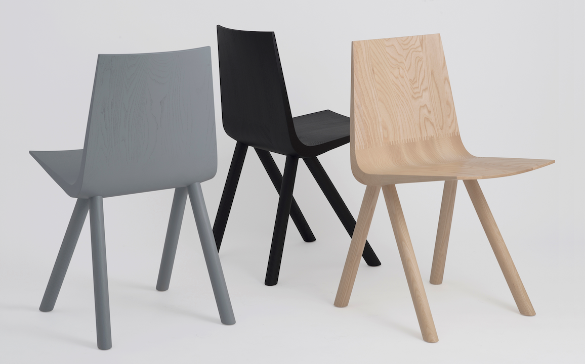 Cresta Solid Wood Shell Chair ...