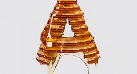 3D Models + Honey = Delicious Typography