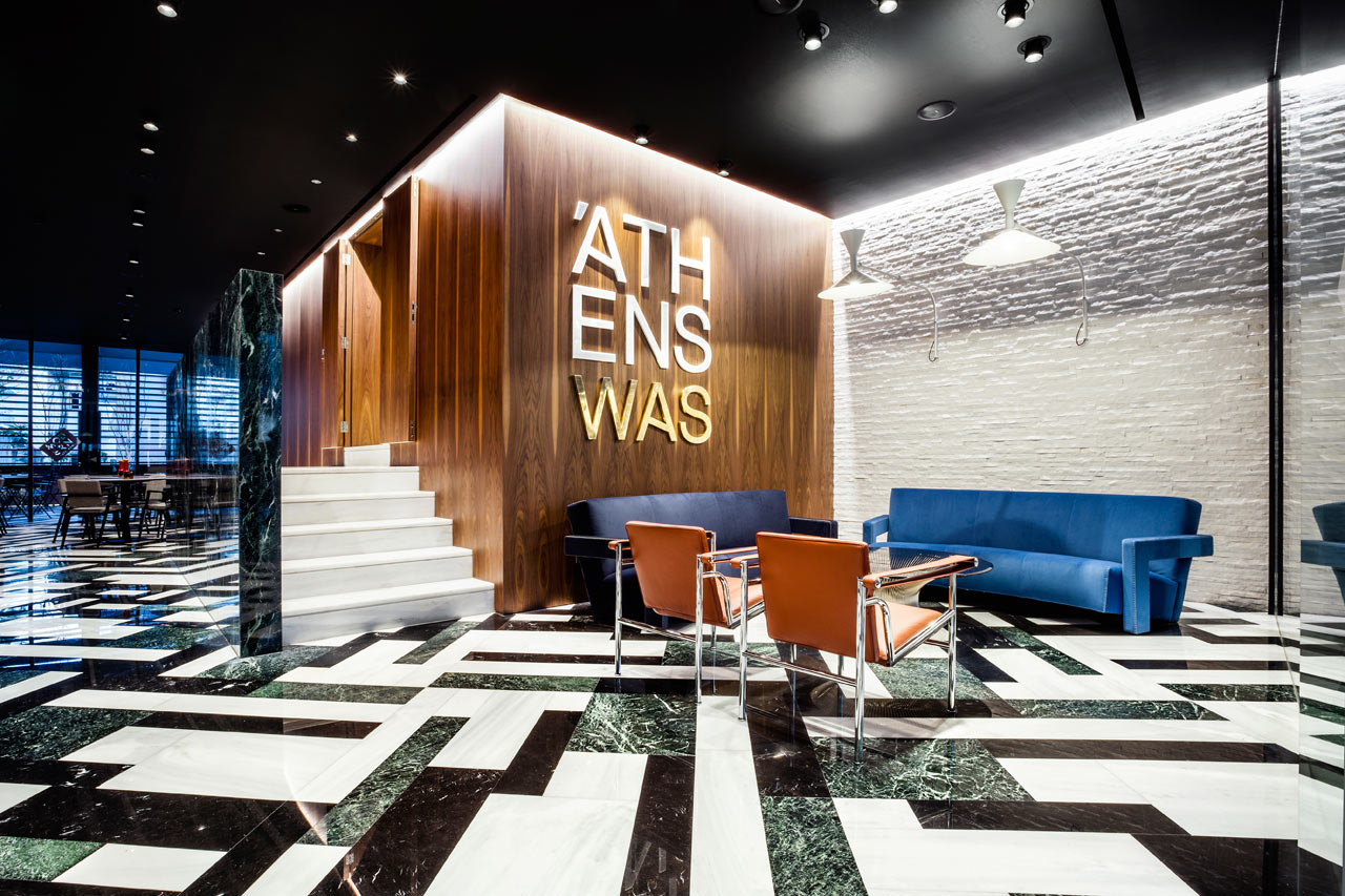 A Hotel in Athens That's a Throwback to Classic Modernism