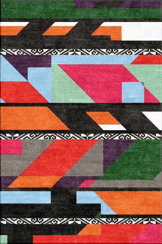 Abstract, Graphic Rugs From Inigo Elizalde