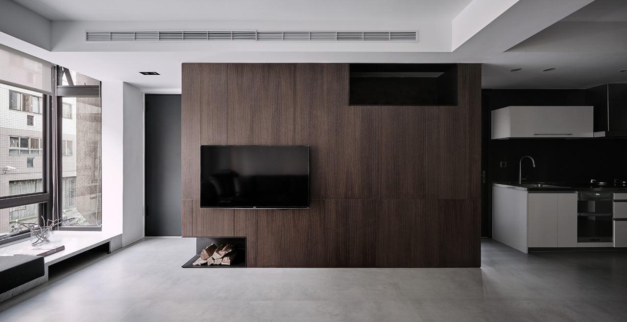 A Simple Apartment with a Clean Color Palette