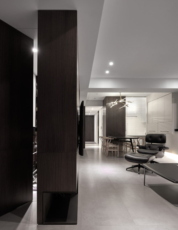 A simple apartment with a clean color palette design milk taiwanese apartment with simple layout and punchy palette