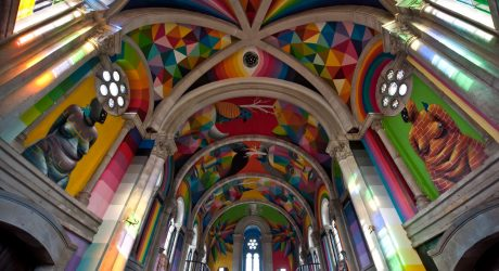 An Old Church Becomes a Colorful Skateboarder's Heaven