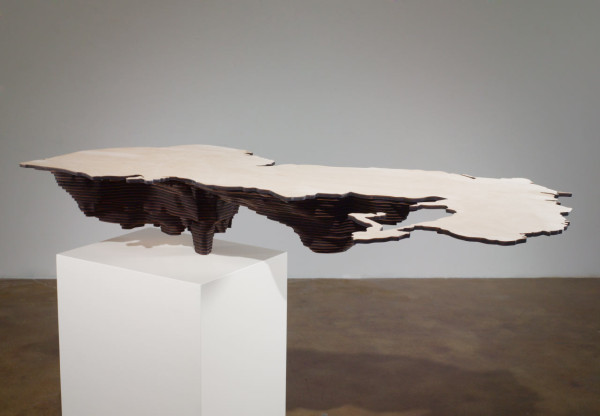 Maya Lin, Caspian Sea (Bodies of Water series), 2006