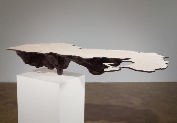 Maya Lin, Caspian Sea (Bodies of Water series), 2006