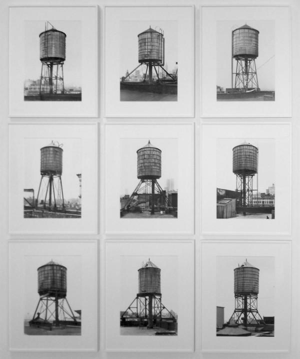 Bernd and Hilla Becher, Water Towers, 2011