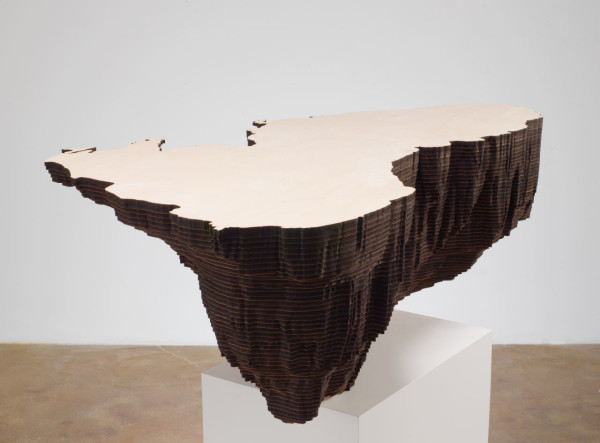 Maya Lin, Black Sea (Bodies of Water series), 2006