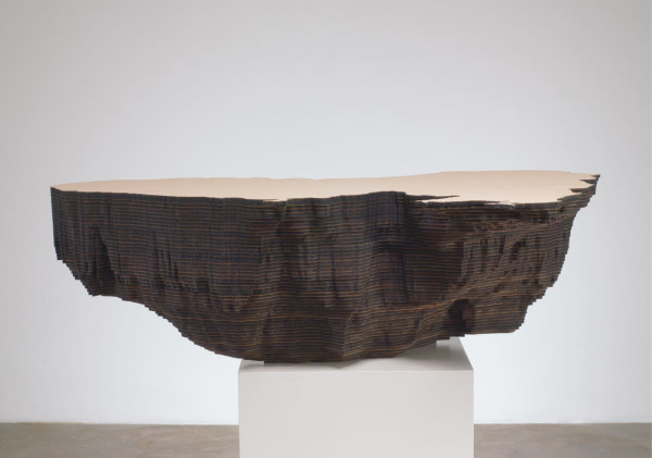 Maya Lin, Black Sea (Bodies of Water series), 2006