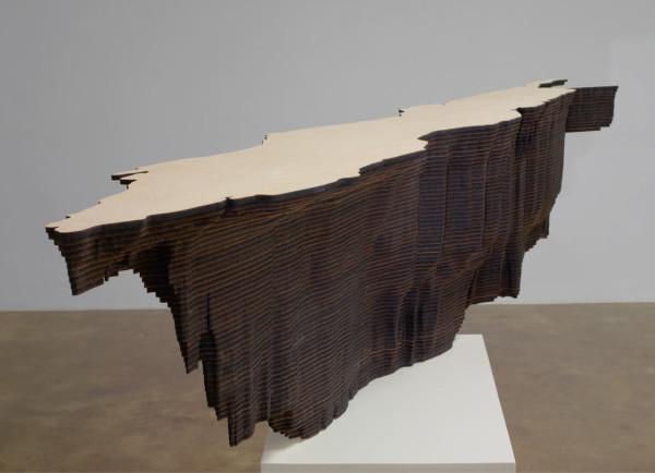 Maya Lin, Red Sea (Bodies of Water series), 2006