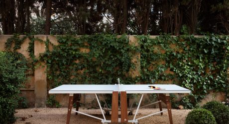 A Folding Ping Pong Table That Keeps Design in Mind