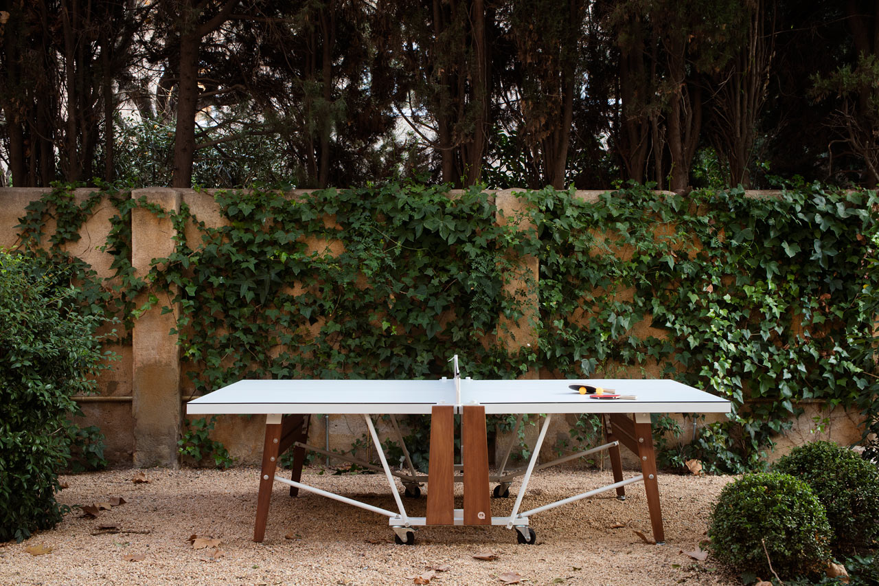 A Folding Ping Pong Table That Keeps Design In Mind ...
