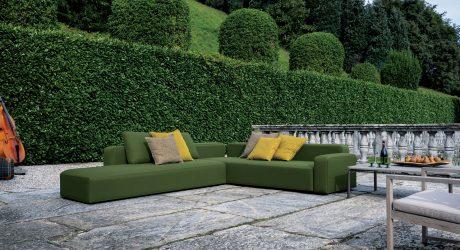A Versatile, Adaptable Sofa for Outdoors