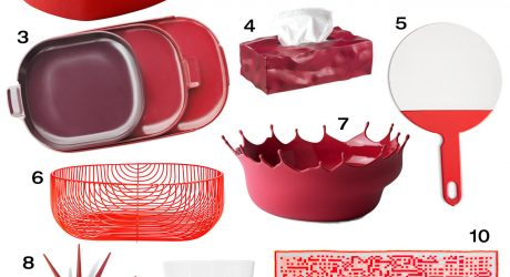 10 Red Objects You'll Fall In Love With