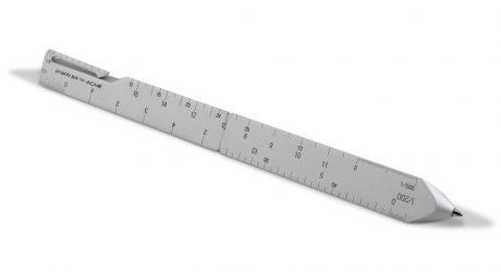 Scale: A Retractable Ballpoint Pen by Architect Shigeru Ban