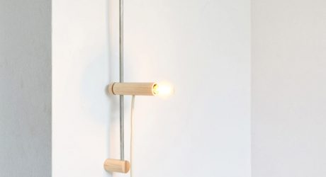 SET: An Adjustable Wall Light by Reinier de Jong