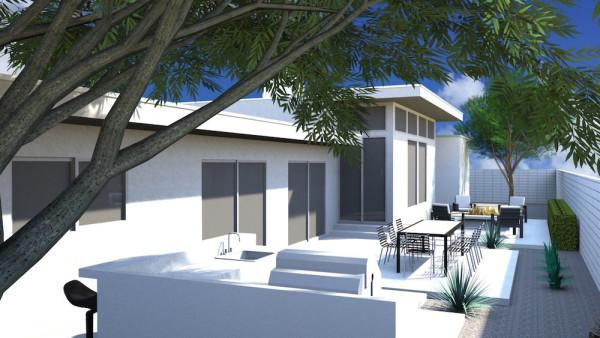 Sierra Way House Rendering