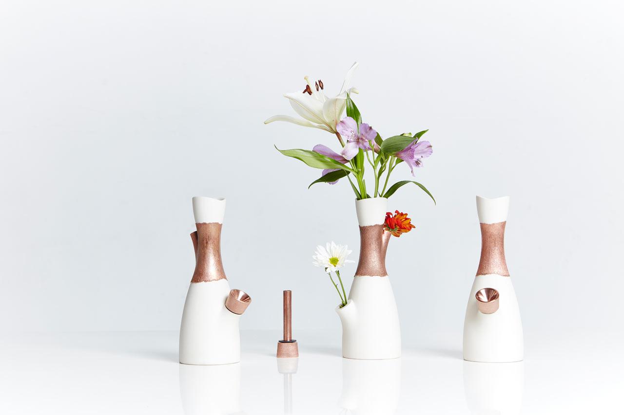 Voong A Vase That Doubles As A Bong Design Milk